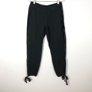 FABLETICS Black Jogger w/ Tie Hems   Size: M